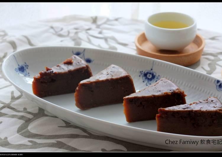 黑糖桂圓燕麥糕