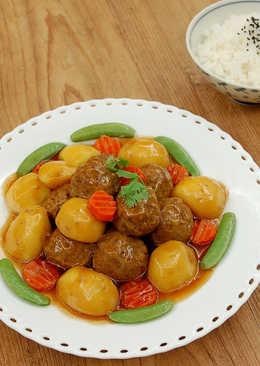 【馬鈴薯燉肉丸】