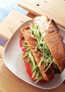 3F Kitchen - 辣味噌百頁豆腐堡 / 全素