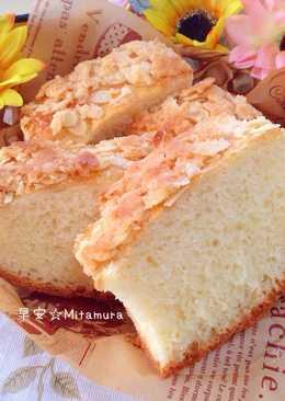 杏仁瓦片麵包