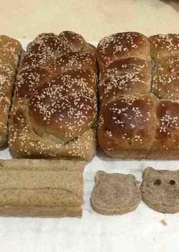 湯種法 ~ 黑糖黑芝麻面包