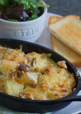 【焗烤】起士鴻喜菇馬鈴薯