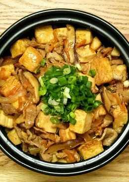 台式牛肉豆腐煲