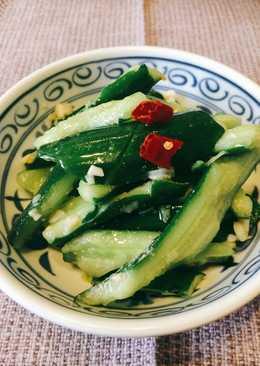 【夏季清涼食譜】涼拌小黃瓜