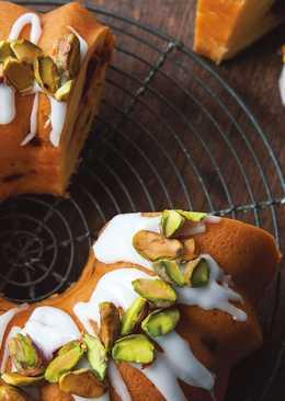 東販小食堂:開心果&蔓越莓特濃蛋糕