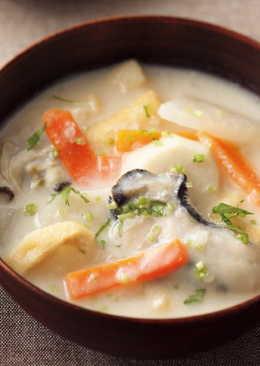 東販小食堂:日式家常菜 酒糟牡蠣味噌湯