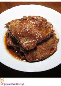 香煎燒烤肉片