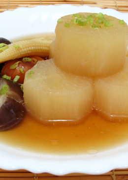 蘿蔔關東煮