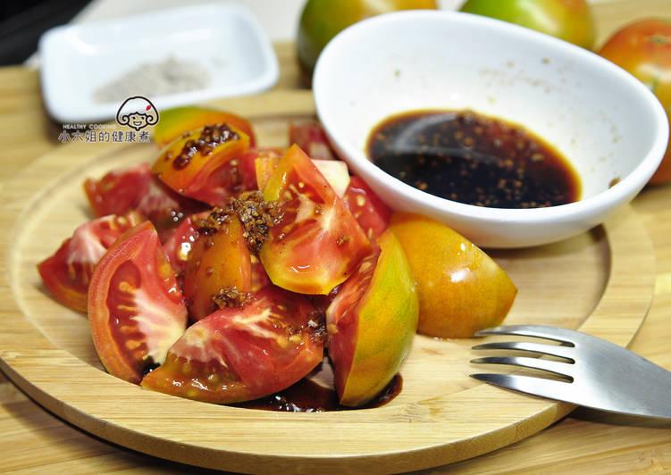 古早味番茄切盤【御釀拌淋風味】
