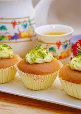 蜂蜜檸檬杯子蛋糕