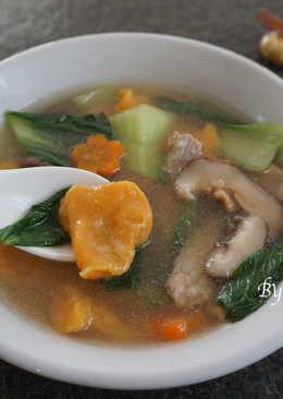 南瓜麵疙瘩湯