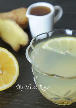 【抗感冒】蜂蜜檸檬薑茶