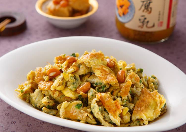 【家樂福廚房】腐乳炒蛋