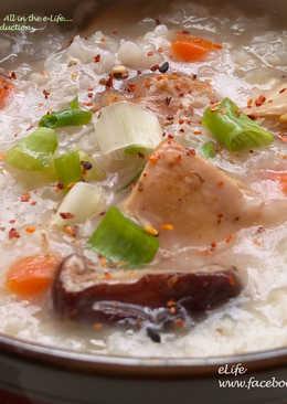 超綿密~滑潤的~『洋蔥雞肉粥』