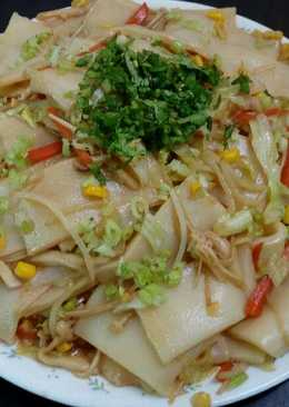炒板條(素食)