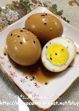 韓式醬煮蛋계란조림(달걀조림)