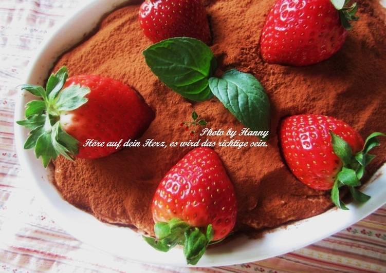 ♥開動with Kat♥草莓提拉米蘇