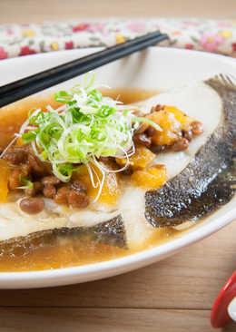 鳳梨黃豆醬蒸鱈魚@美麗人妻Selina Wu