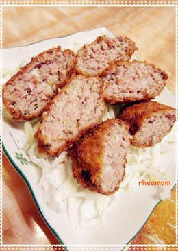*高麗菜漢堡肉*