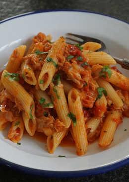 蕃茄鮪魚筆管麵