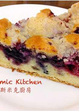 """莓果奶酥蛋糕 (9"""" 蛋糕圓模) ~附『實作影片』~"""