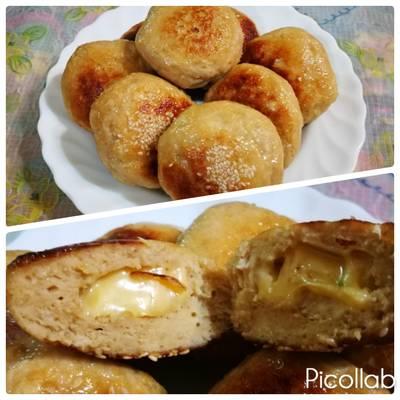 香煎雞肉豆腐丸vs香煎雞肉起司豆腐丸