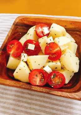 夏日定番『沙拉!』蘋果番茄🍎
