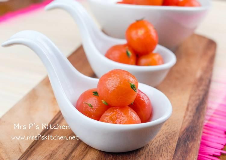醋漬小蕃茄 【健康開胃小吃】