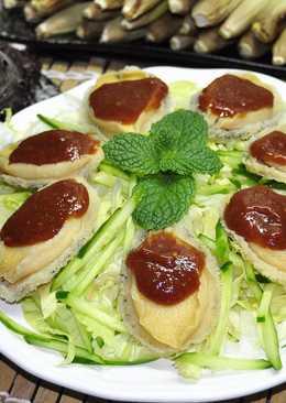 熟凍鮑魚佐五味醬
