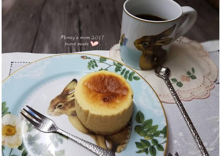 Money's mom的杂炊笔记 发表的 日式舒芙蕾半熟奶酪蛋糕(白美娜浓缩鲜乳使用)
