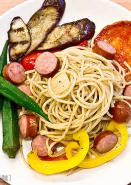 菲姐私房菜-野菜蔬食義大利麵