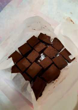 想吃生巧克力不求人