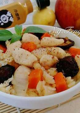 香菇雞肉炊飯(電鍋版)