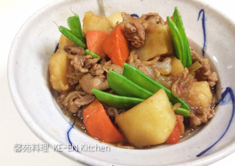 日式豬肉燉馬鈴薯《肉じゃが》