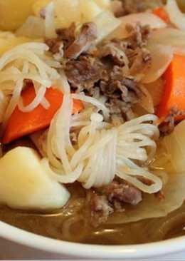 日式薯仔肥牛