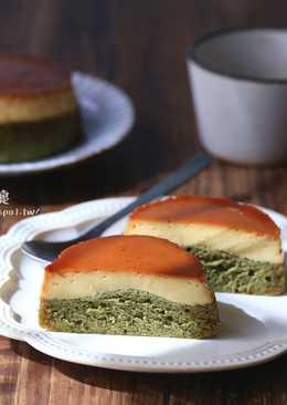 電鍋也可輕鬆做出京都味の抹茶布丁蛋糕【一起吃有機】