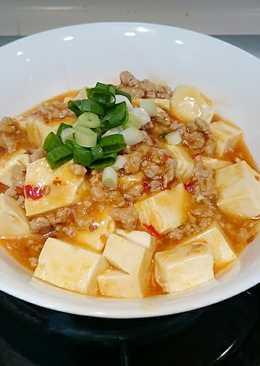 香辣麻婆豆腐(免花椒)