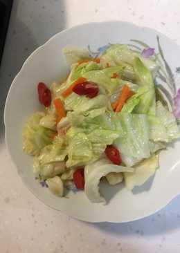 辣炒高麗菜