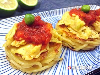 蕃茄嫰蛋鳥巢酥