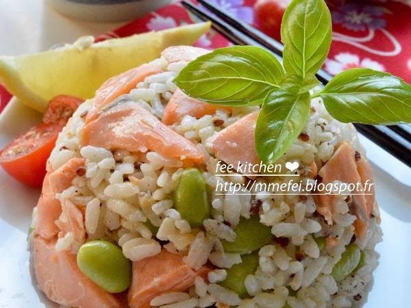 超香鮭魚炒飯