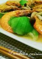 絲瓜蒸鮮蝦