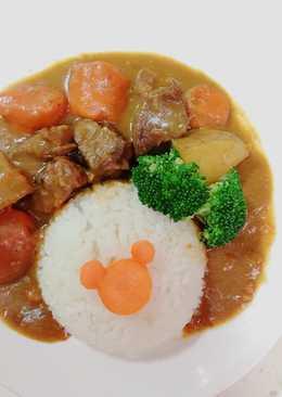 咖喱牛腩飯