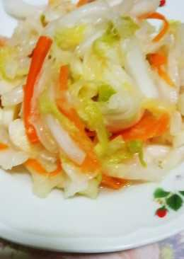 爽脆的台式泡菜