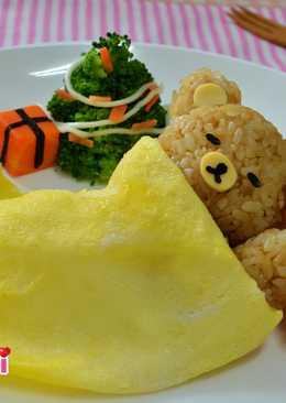 平安夜聖誕彩米拉拉熊--彩色米創意料理