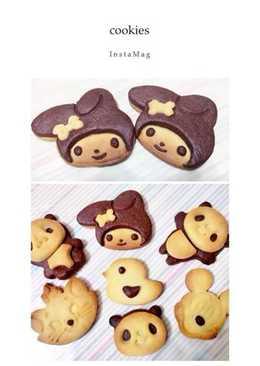 可愛卡通造型餅乾