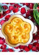 玫瑰花型麵包