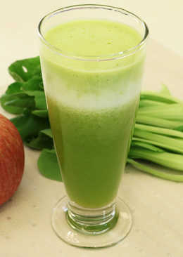 綠拿鐵-青江鳳梨蔬果汁