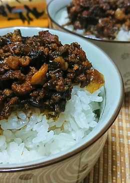 梅干肉燥飯