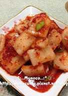 韓式蘿蔔片泡菜무김치