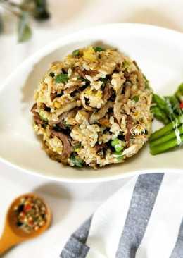 牛肉菌菇炒飯